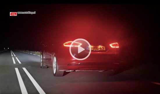 Ford Mondeo LED video