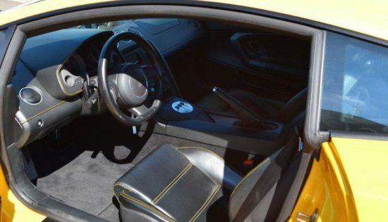Gallardo interieur
