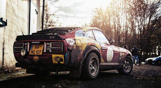 Gespot: Datsun 280Z rally