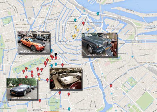 Spotkaartje Amsterdam