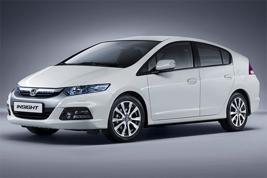 Honda Insight. Doei.