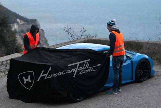 Betrapt: de Lamborghini Huracan Superleggera