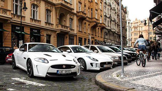 Jaguar witte combo