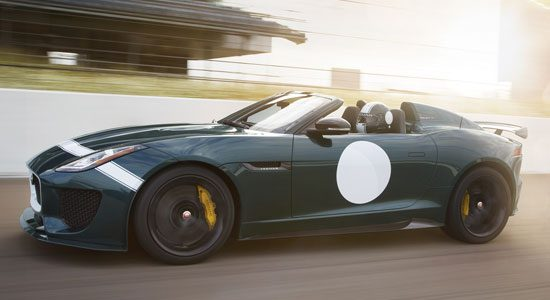 David Beckham scoort Jaguar F-Type Project 7