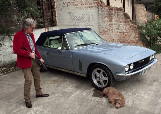 James may doodt hond van Richard Hammond