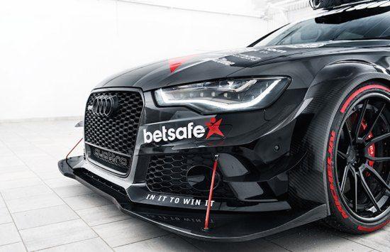 Audi RS6 met enorme splitter
