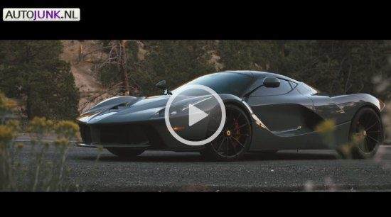 LaFerrari Vossen video