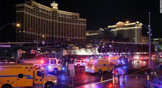 Vreselijk incident in Las Vegas