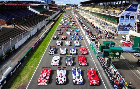 Livestream: 24 uur van Le Mans 2015!