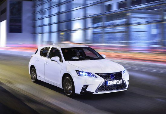 'De Lexus CT 200h is de milieuvriendelijkste auto'