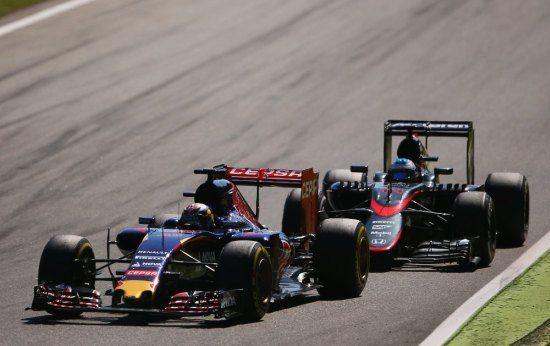 Zo gaan Formule 1-auto