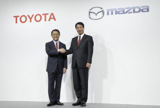 Toyota + Mazda = dikke maatjes