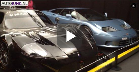 Video: Veneno + MC12 + F12tdf + LaFerrari + EB110