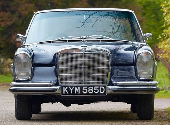 Mercedes Benz 250 SEL Bill Wyman