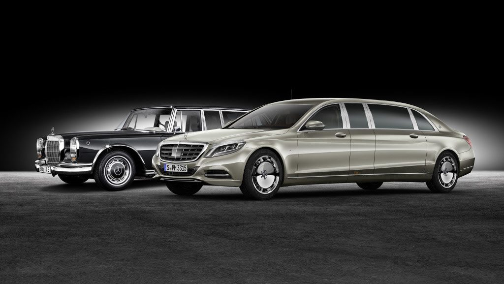 Mercedes 600 versus Maybach