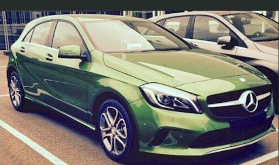 Hier, de facelift van de Mercedes A-Klasse