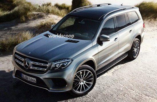 Hier, nog een lekplaatje van de Mercedes GLS