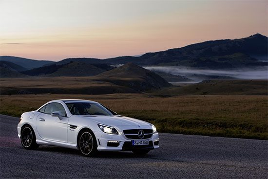 Mercedes SLK55 AMG is dood