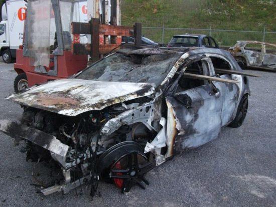 A45 AMG met kleine schade