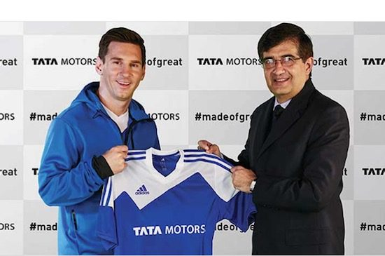 Messi en Tata CEO