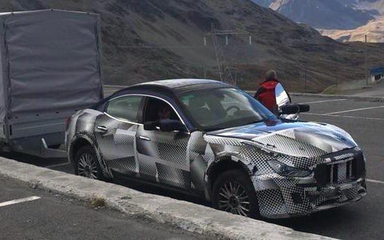 De SUV van Maserati debuteert in maart 2016