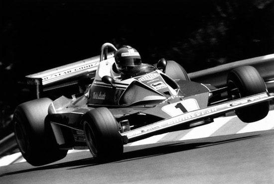 Lauda in zijn tijd bij Ferrari