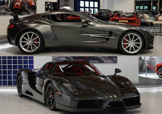 Occasion kies maar: AM One-77 of carbon Ferrari Enzo