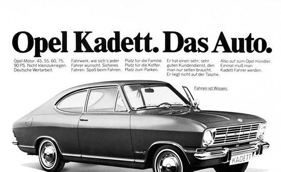 Opel Das Auto