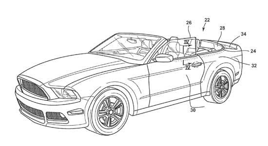 ford wil patent op lichtgevende auto-onderdelen