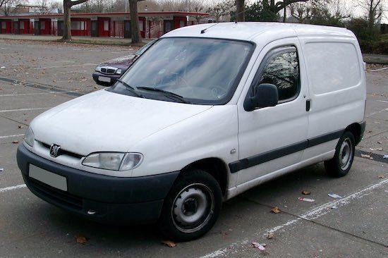 Een Peugeot Partner uit 1997