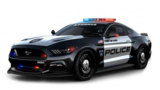 Politie Mustang
