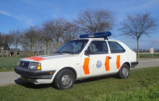 Politie Volvo 340