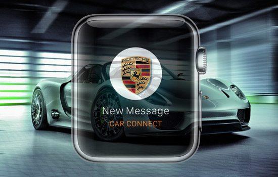 Porsche 918 Spyder en de Porsche Car Connect-app