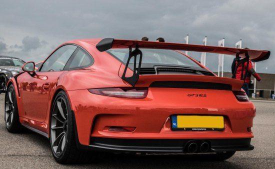 Porsche 991 GT3 RS op NL kenteken