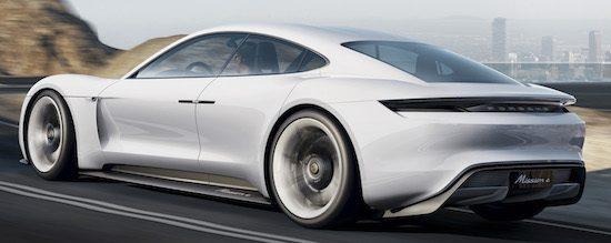 Porsche elektrische wagen