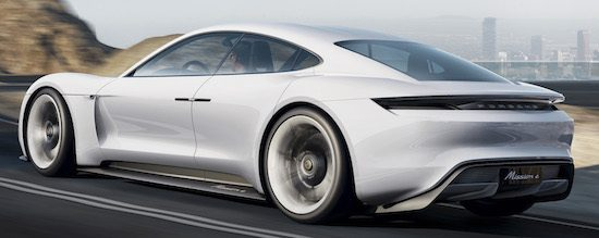 Porsche Mission E: elektrisch geweld met 600 pk