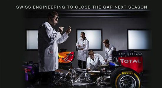 TAG Heuer levert motoren Red Bull Racing 2016?