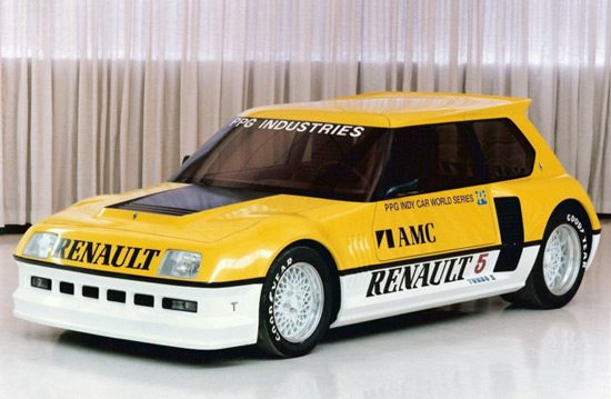 Renault 5 Turbo Pace Car