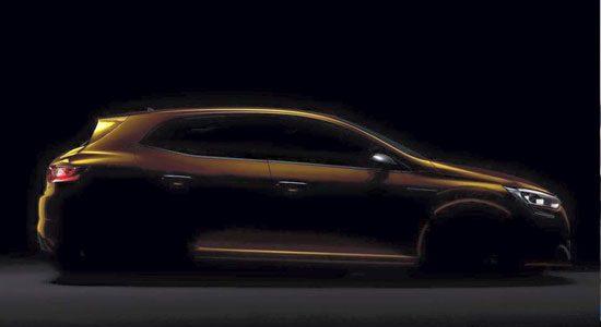 Renault Mégane RS teaser