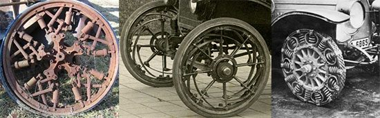 Resilient wheels