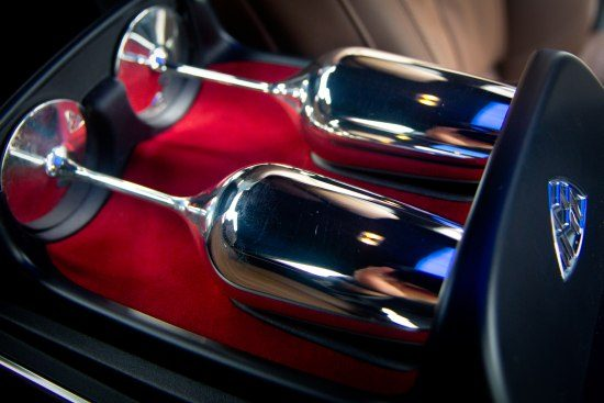 Mercedes-Maybach champagne flutes
