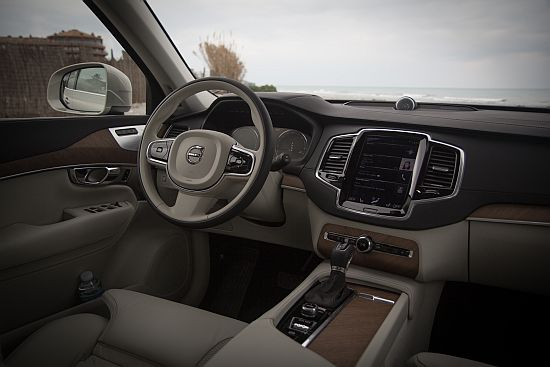 Volvo xc90 rijtest en video for Interieur xc90