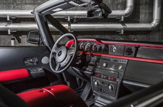 Phantom Drophead Coupé Nighthawk interieur