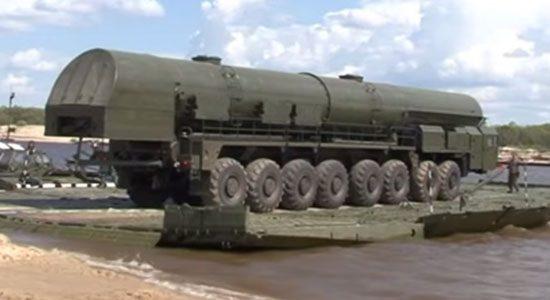 Russische RS-24 Yars zestienwieler