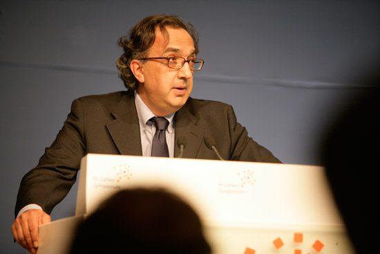 Sergio Marchionne boert best aardig als CEO