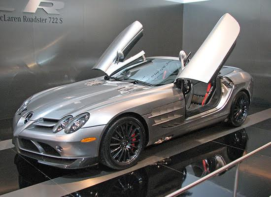 Mercedes-Benz SLR McLaren Roadster 722 S Edition
