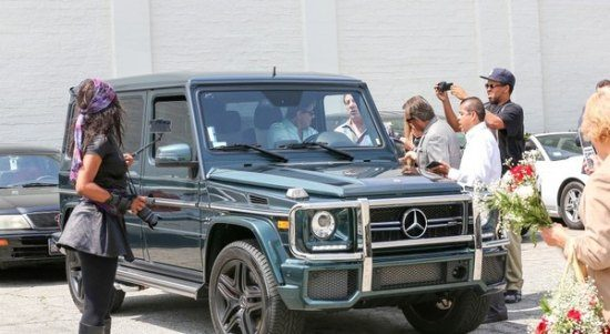 Sly Stallone G63 AMG