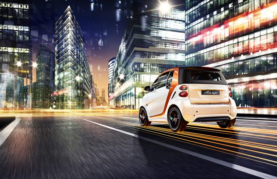 smart fortwo flashlight