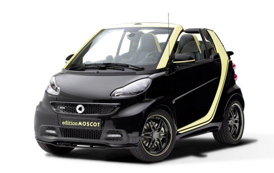 smart fortwo edition MOSCOT