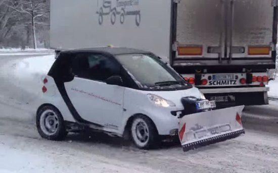 Smart sneeuwschuiver